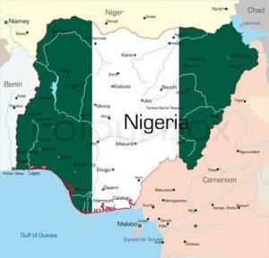 Nigeria map image