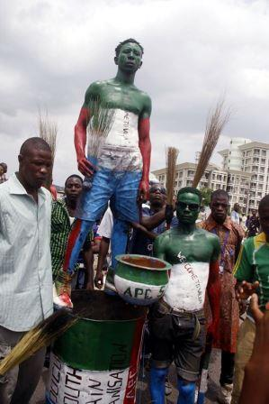 APC supporters