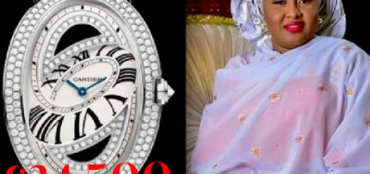 Aisha Buhari expensive watch image