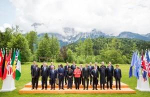 Buhari dress to G7 2015 summit