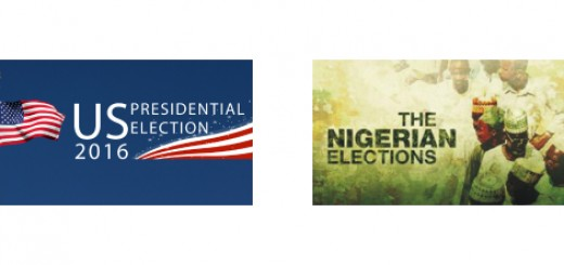 Us presidential elections 2016 and Nigeria presidential elections 2015 image