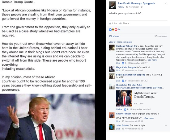 false-statement-about Donald Trump image